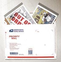 2 books, Priority Mail